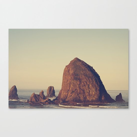Oregon Ocean Canvas Print