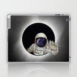 Black Hole Astronaut Laptop & iPad Skin