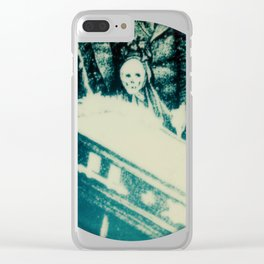 Calling All Skeletons No.2 Clear iPhone Case