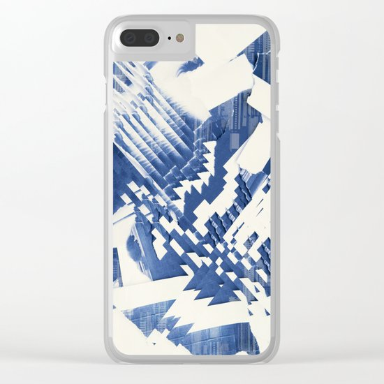 Abstract 220 Clear iPhone Case