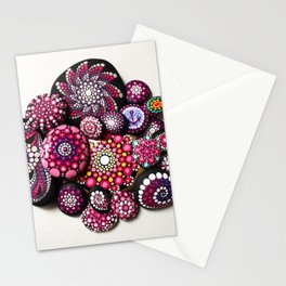Pink Explosion Stationery Cards
