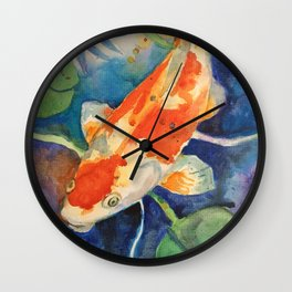 KOI #1 Wall Clock
