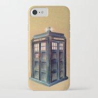 tardis iPhone & iPod Cases featuring TARDIS by Jordan