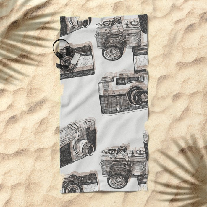 You Can't Beat The Classics Beach Towel