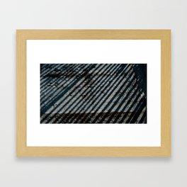 Idealism Sits In Prison Framed Art Print