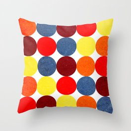 Circulos 01 Throw Pillow