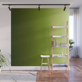 Ombre Greens Reversed 1 Wall Mural