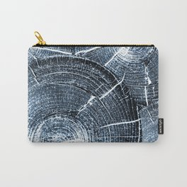 Old Tree Rings Abstract Carry-All Pouch