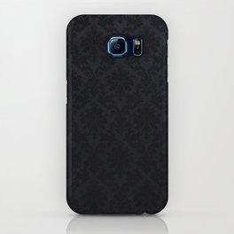Black damask - Elegant and luxury design iPhone Case