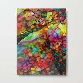 Colored Tafoni 3 Metal Print