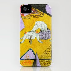 space plain iPhone (4, 4s) Slim Case