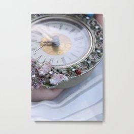 ClockWatcher Metal Print