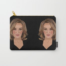 On Wednesdays, We Wear Black Carry-All Pouch