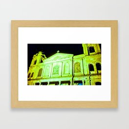 Church of Holy Week. Framed Art Print