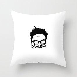 Dawlism logo Throw Pillow