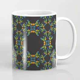 Midnight Garden – orange Coffee Mug