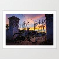 Sri Lanka | Bicycle  Art Print