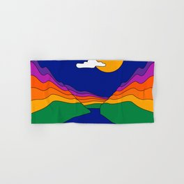 Rainbow Ravine Hand & Bath Towel