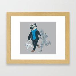 The Literal Adventures of... Framed Art Print