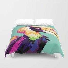Bird Colorfull Duvet Cover