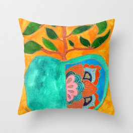 Fruit of Heart's Labour Throw Pillow