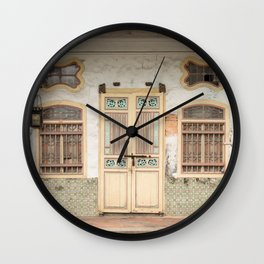 Old Shop House #26 Wall Clock