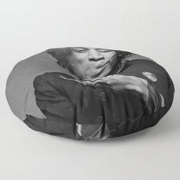 jimi hendrix Floor Pillow