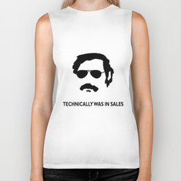 Technically was in Sales Funny T-shirt Pablo Escobar Biker Tank