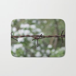 barbed wire Bath Mat