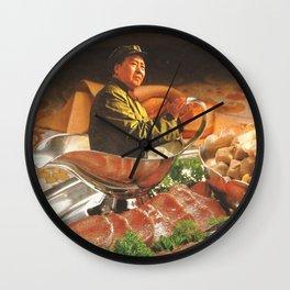 Salsa de Mao Wall Clock