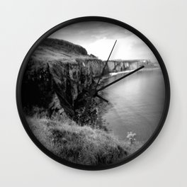 Baby Cliffs of Moher Wall Clock