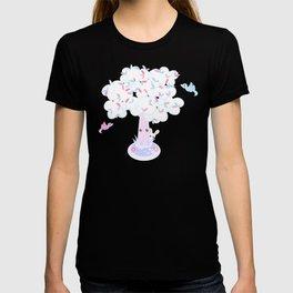 Kawaii Tree Clouds T-shirt