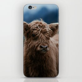 Baby Highland Cow iPhone Skin
