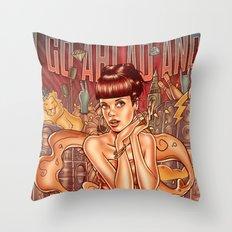 Smile - Lily Allen Throw Pillow