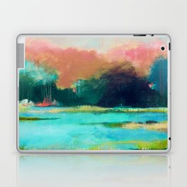 Lime and Turquoise Laptop & iPad Skin