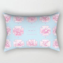 Endangered Love - Panda Sutra Rectangular Pillow