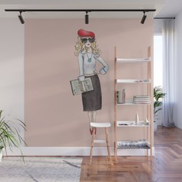 Meet Margaux in Paris Wall Mural