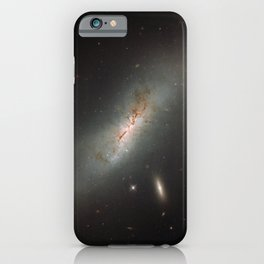 Leda NGC 4424 The Beautiful Universe iPhone Case