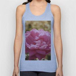 Pink Vintage Flower Hydrangea Unisex Tank Top