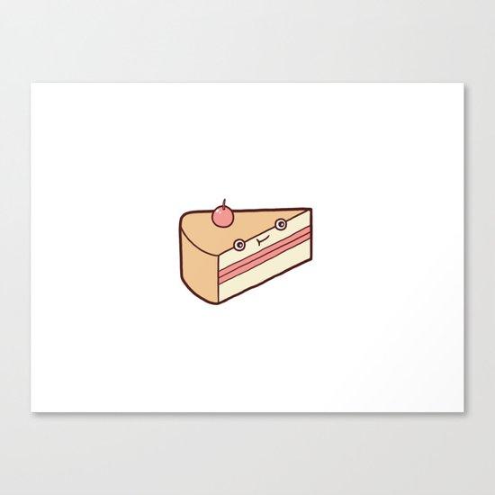 Happy Cake Canvas Print