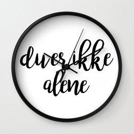 SKAM - Isak & Even - Du er ikke alene Wall Clock