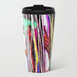 Colored woods Travel Mug