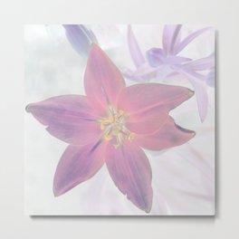 Lily Inversion Metal Print