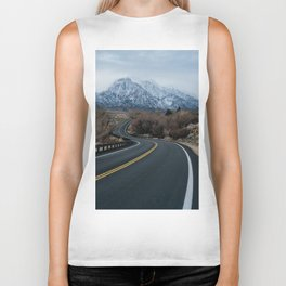 Blue Mountain Road Biker Tank