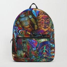 Psychedelic Buddha Backpack