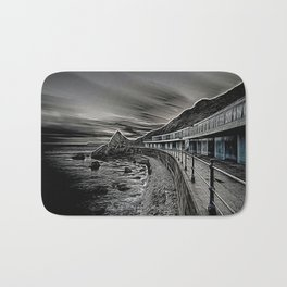 Meadfoot Beach Huts - Digital Bath Mat