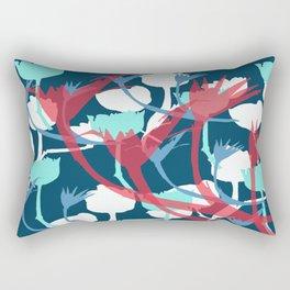 Betsy Blue Rectangular Pillow