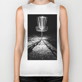 Disc Golf Chains Biker Tank