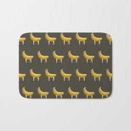 Bananas About Llamas Pattern Bath Mat