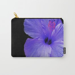 A Single Hibiscus Inversion Carry-All Pouch